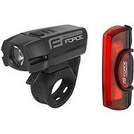 Force Glare USB Első + hátsó - Kerékpár lámpa