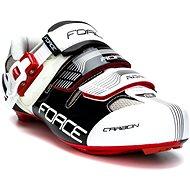 Force Road Carbon - fekete/ fehér, mérete 36/225 mm - Kerékpáros cipő