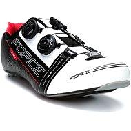 Force Cavalier Carbon - fekete/ fehér/piros, mérete 40/252 mm - Kerékpáros cipő