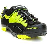 Force Tourist - fekete/fluo - Kerékpáros cipő