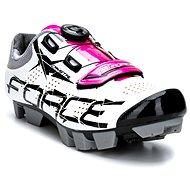 Force MTB Crystal - fehér/rózsaszín - Kerékpáros cipő