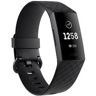 Fitbit Charge 3 Black / Graphite Aluminium - Okoskarkötő