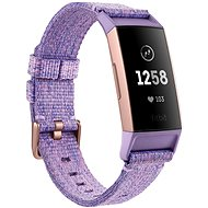 Fitbit Charge 3, Lavender Woven / Rose-Gold Aluminium