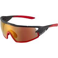 Kerékpáros szemüveg Bollé B-ROCK PRO Black Matte - Phantom Brown Red PhotoVoltic CAT.2-3