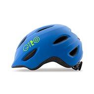 Kerékpáros sisak Giro Scamp Mat Blue/Lime S