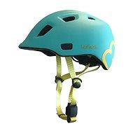 Hamax Thundercap street türkiz / sárga szalagok - Kerékpáros sisak