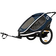 Hamax Outback 2in1 navy kék - Bicikli után köthető gyermekutánfutó