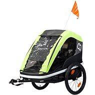 Hamax Avenida Twin lime - Bicikli után köthető gyermekutánfutó