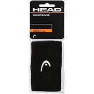"""Head Wristband 5"""" fekete - Csuklópánt"""