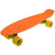 """Sulov Neon Speedway narancsszín-sárga, mérete 22"""" - Penny board gördeszka"""