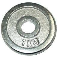 Acra króm súlytárcsa 1 kg / 25 mm-es rúdhoz - Súlytárcsa