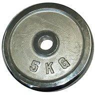 ACRA Króm tárcsasúly, 5kg, 25mm-es rúdhoz - Súlytárcsa