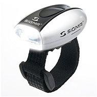 Sigma Micro ezüst / első lámpa LED-fehér - Kerékpár lámpa