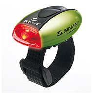 Sigma Micro lámpa zöld / hátsó lámpa LED vörös - Kerékpár lámpa
