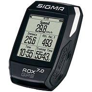 Sigma Rox 7.0 GPS kerékpár computer Fekete - Kerékpáros computer