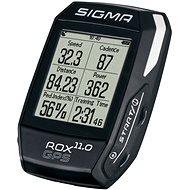 igma Rox 11,0 GPS kerékpáros computer szett fekete - Kerékpáros computer