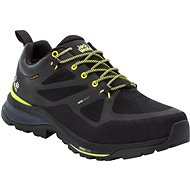 Jack Wolfskin Force Striker Texapore low M fekete/sárga - Trekking cipő