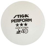 Stiga Perform ***, ITTF, fehér, 3db - Pingponglabdák