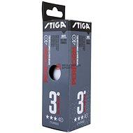 Stiga Perform ***, ITTF, fehér, 3 db - 3 csomag - Pingponglabda