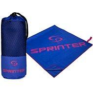 SPRINTER Mikroszálas törölköző - 70×140 cm, kék-rózsaszín - Törölköző