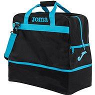 Joma Trainning III black-fluor turquoise - L - Sporttáska
