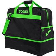 Joma Trainning III black-fluor green - L - Sporttáska