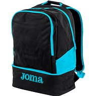 Joma Backpack Estadio III, black-fluor turquoise