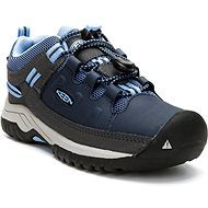 Keen Targhee Low WP Y Blue Nights/Della Blue kék színű - Outdoor cipő