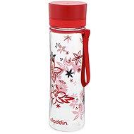 Aladdin Aveo Aveo 600 ml-es ivó palack piros mintás - Kulacs