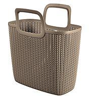 Curver Knit bevásárlótáska barna - Bevásárló táska