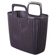 Curver Knit Emily bevásárló táska lila - Bevásárló táska
