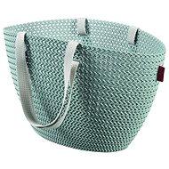 Curver Knit Emily bevásárló táska szürkéskék - Bevásárló táska