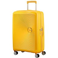 American Tourister Soundbox Spinner 67 Exp Golden Yellow