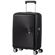 American Tourister Soundbox Spinner 55 Exp Bass Black - TSA záras bőrönd