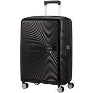 American Tourister Soundbox Spinner 67 Exp Bass Black - TSA záras utazóbőrönd