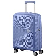 American Tourister Soundbox Spinner 55 Exp Denim Blue - TSA záras utazóbőrönd