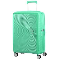 American Tourister Soundbox Spinner 67 Exp Deep Mint