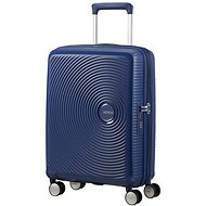 American Tourister Soundbox Spinner 55 Exp Midnight Navy - TSA záras utazóbőrönd