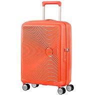 American Tourister Soundbox Spinner 55 Exp Spicy Peach - TSA záras bőrönd