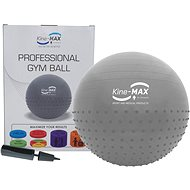Kine-MAX Professional GYM Ball - ezüst - Fitnesz labda