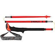 Leki Micro Stick Carbon red-black-white - Bot