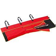 Leki Wrap Bag Alpine, fluorescent red-black-neonyellow, 210 cm - Sízsák