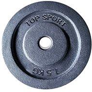 LIFEFIT TS 1,5 kg, fém, 30 mm furat - Súlytárcsa