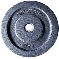 LIFEFIT TS 1,0 kg, fém, 30 mm súlyzórúdhoz - Súlytárcsa