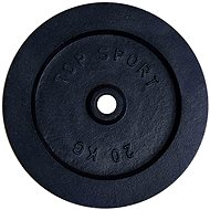LIFEFIT TS 20kg, fém, 30 mm furat - Súlytárcsa