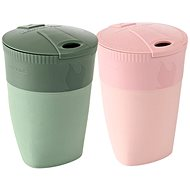 Light My Fire Pack-up-Cup BIO 2-pack, dustypink/sandygreen - Bögre