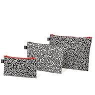 LOQI Keith Haring Zip zseb - Szépségápolási utazókészlet