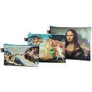LOQI Michelangelo, Botticelli, Da Vinci zsebtok - Szépségápolási utazókészlet