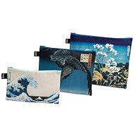 LOQI Hokusai, Hiroshige zsebtáskák - Szépségápolási utazókészlet