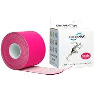 Kineziológiai szalag KineMAX 4Way stretch kineziológiai szalag (rózsaszín)